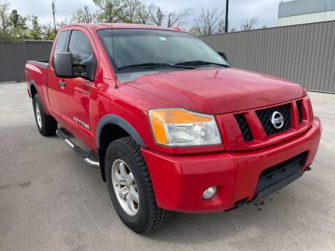 2008 Nissan Titan for sale at Auto Solutions in Warr Acres OK