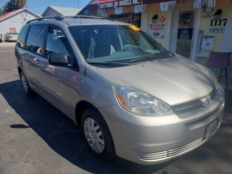 2005 Toyota Sienna for sale at ANYTHING ON WHEELS INC in Deland FL