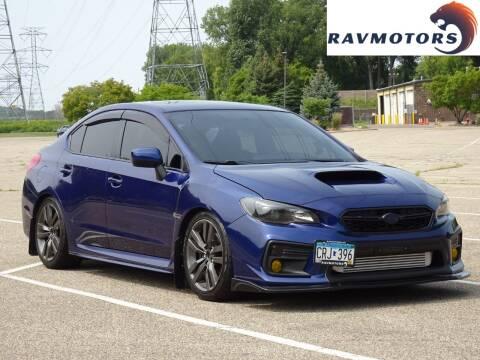 2016 Subaru WRX for sale at RAVMOTORS in Burnsville MN