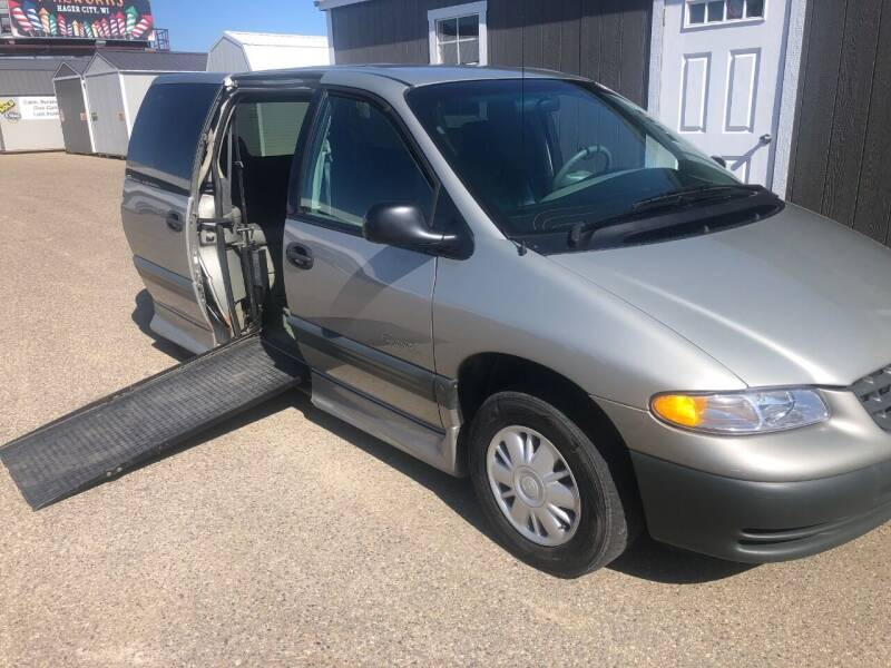 1997 Plymouth Grand Voyager for sale at Triple R Sales in Lake City MN