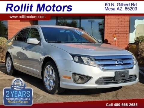 2010 Ford Fusion for sale at Rollit Motors in Mesa AZ
