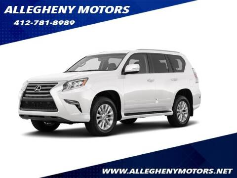 2019 Lexus GX 460 for sale at Allegheny Motors in Pittsburgh PA
