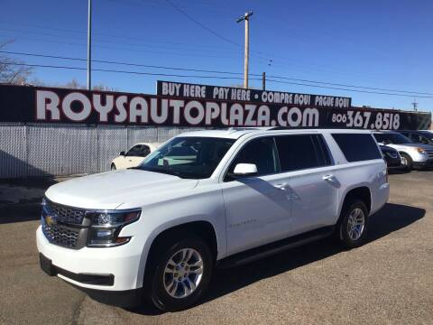 2015 Chevrolet Suburban for sale at Roy's Auto Plaza 2 in Amarillo TX