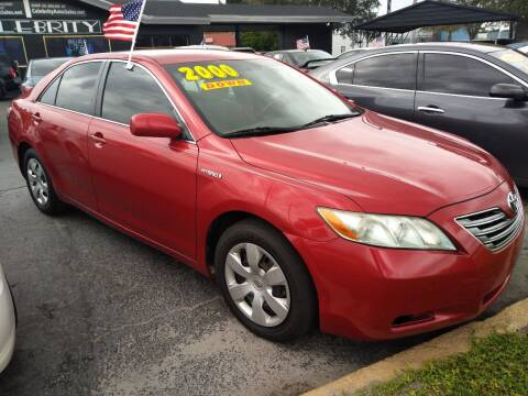 2009 Toyota Camry Hybrid for sale at Celebrity Auto Sales in Port Saint Lucie FL