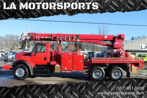 2009 International 7400 for sale at LA MOTORSPORTS in Windom MN