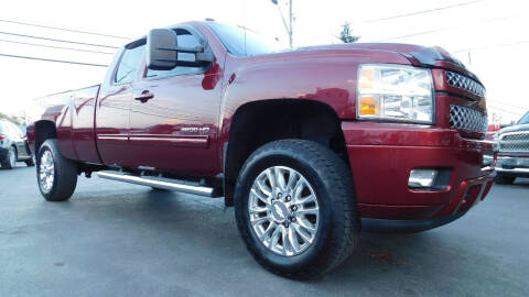 2013 Chevrolet Silverado 2500HD for sale at Action Automotive Service LLC in Hudson NY
