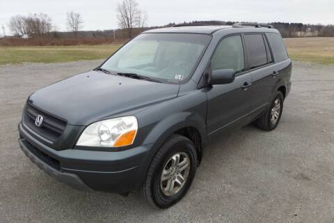 2005 Honda Pilot for sale at WESTERN RESERVE AUTO SALES in Beloit OH