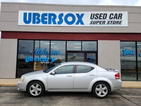 2010 Dodge Avenger for sale at Ubersox Used Car Superstore in Monroe WI