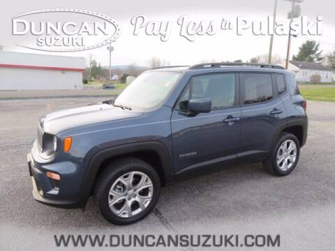 2019 Jeep Renegade for sale at DUNCAN SUZUKI in Pulaski VA
