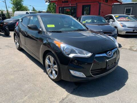 2013 Hyundai Veloster for sale at Mass Auto Exchange in Framingham MA
