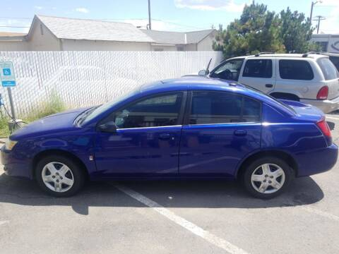 2006 Saturn Ion for sale at Freds Auto Sales LLC in Carson City NV