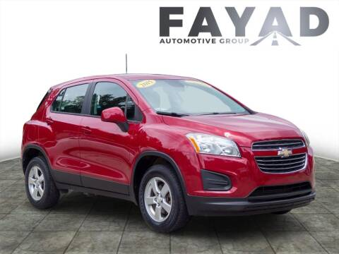 2015 Chevrolet Trax for sale at FAYAD AUTOMOTIVE GROUP in Pittsburgh PA