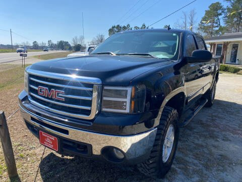 2012 GMC Sierra 1500 for sale at Southtown Auto Sales in Whiteville NC