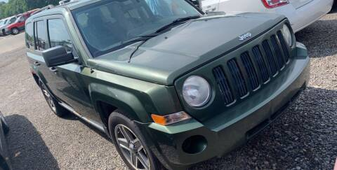 2008 Jeep Patriot for sale at Trocci's Auto Sales in West Pittsburg PA