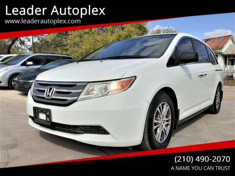 2012 Honda Odyssey for sale at Leader Autoplex in San Antonio TX