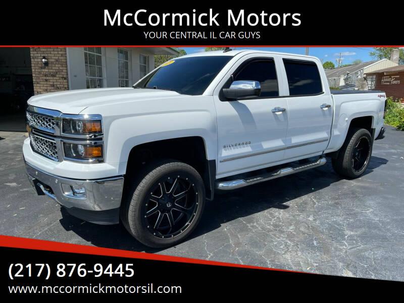 2014 Chevrolet Silverado 1500 for sale at McCormick Motors in Decatur IL