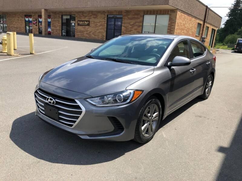 2018 Hyundai Elantra for sale at KARMA AUTO SALES in Federal Way WA