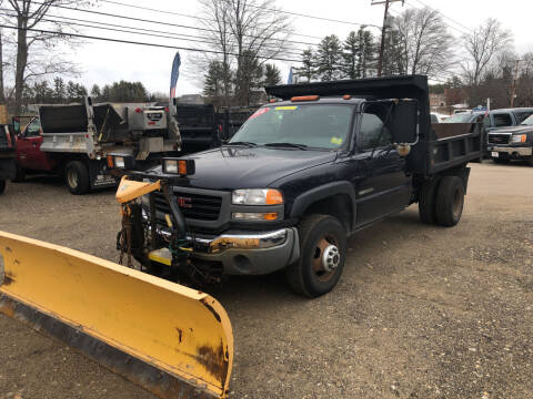 2005 GMC Sierra 3500 for sale at Winner's Circle Auto Sales in Tilton NH