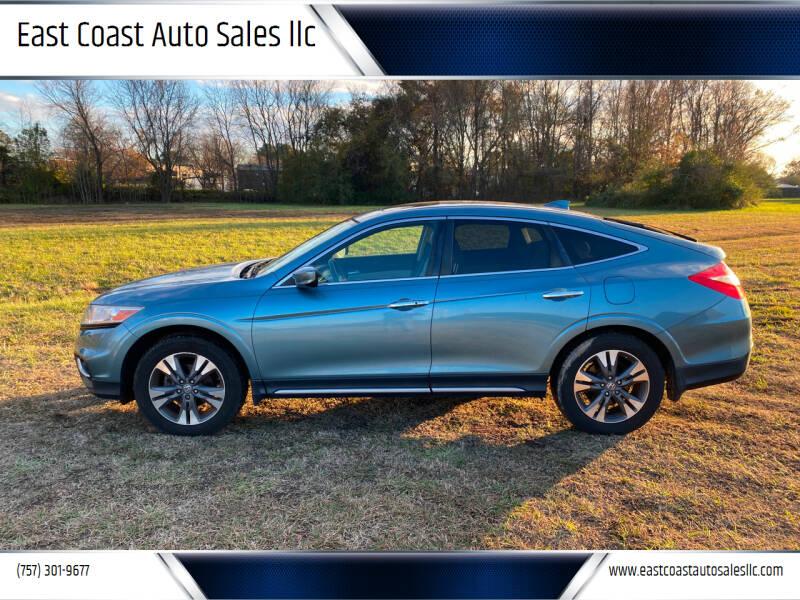 2015 Honda Crosstour for sale at East Coast Auto Sales llc in Virginia Beach VA
