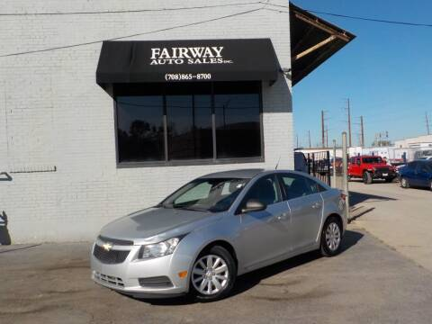 2011 Chevrolet Cruze for sale at FAIRWAY AUTO SALES, INC. in Melrose Park IL