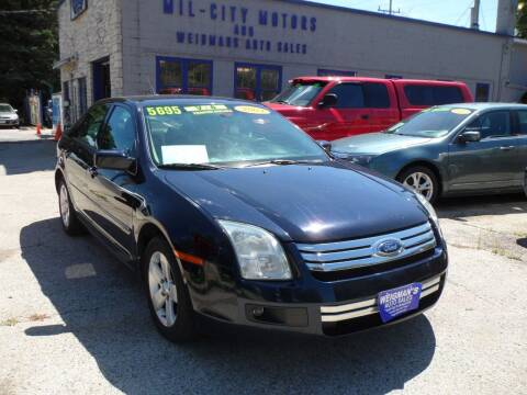 2009 Ford Fusion for sale at Weigman's Auto Sales in Milwaukee WI