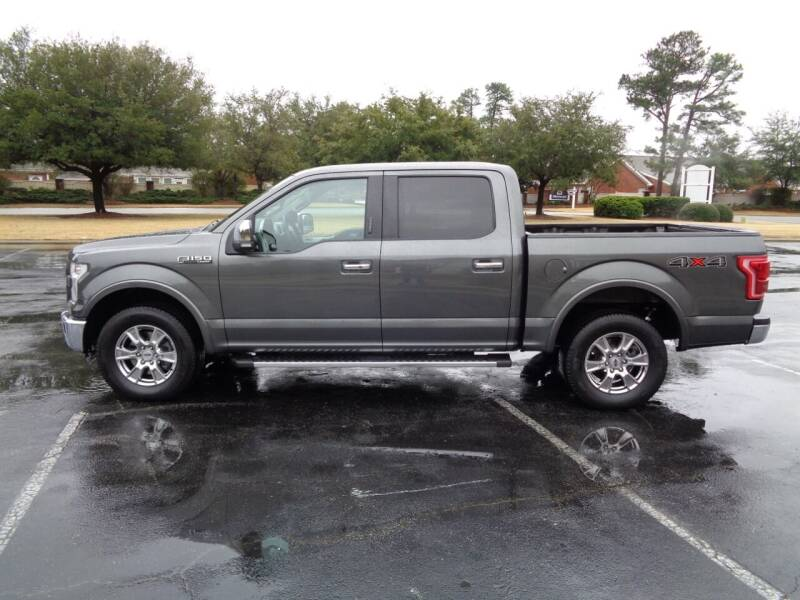 2015 Ford F-150 for sale at BALKCUM AUTO INC in Wilmington NC