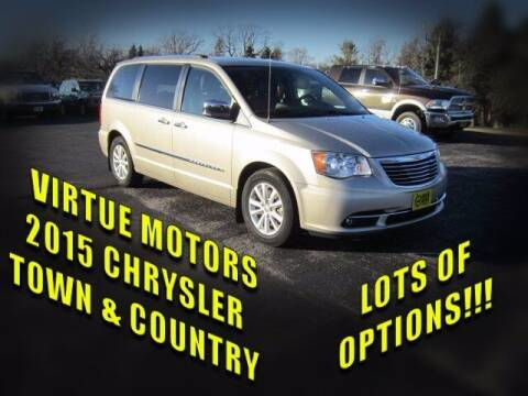 2015 Chrysler Town and Country for sale at Virtue Motors Used in Darlington WI