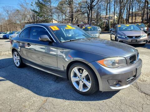2013 BMW 1 Series for sale at Import Plus Auto Sales in Norcross GA