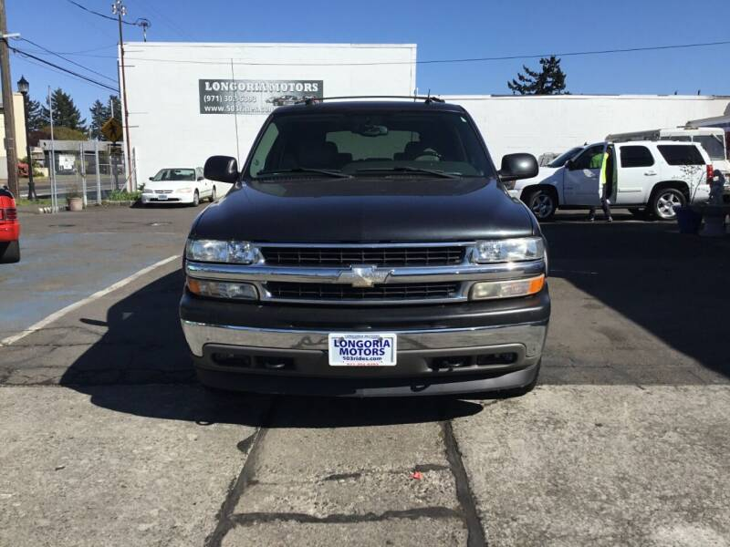 2005 Chevrolet Tahoe for sale at Longoria Motors in Portland OR