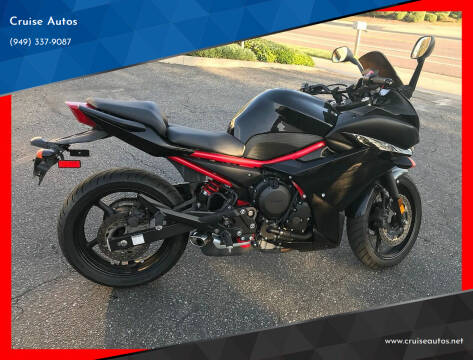 2016 Yamaha FZ6R for sale at Cruise Autos in Corona CA