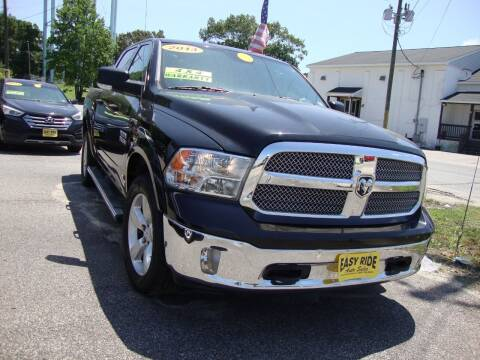 2013 RAM Ram Pickup 1500 for sale at Easy Ride Auto Sales Inc in Chester VA