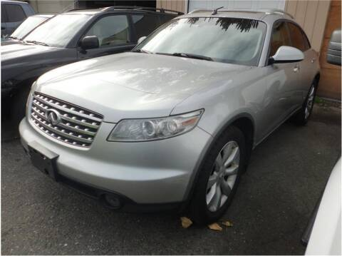 2004 Infiniti FX35 for sale at Klean Carz in Seattle WA