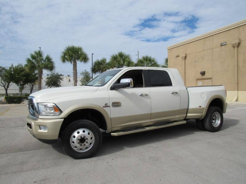 2017 RAM Ram Pickup 3500 for sale at Easy Deal Auto Brokers in Hollywood FL