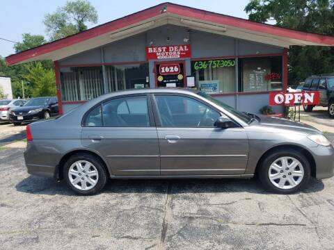 2004 Honda Civic for sale at Best Deal Motors in Saint Charles MO