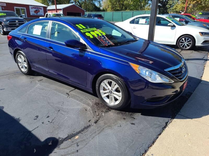 2011 Hyundai Sonata for sale at Crocker Motors in Beloit WI