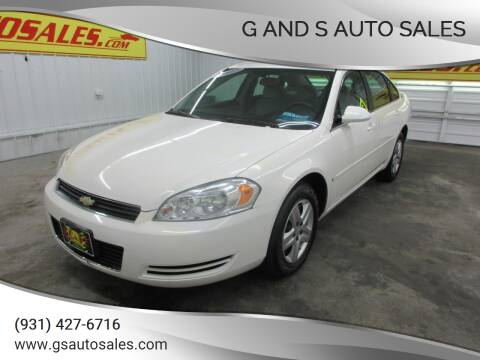 2007 Chevrolet Impala for sale at G and S Auto Sales in Ardmore TN