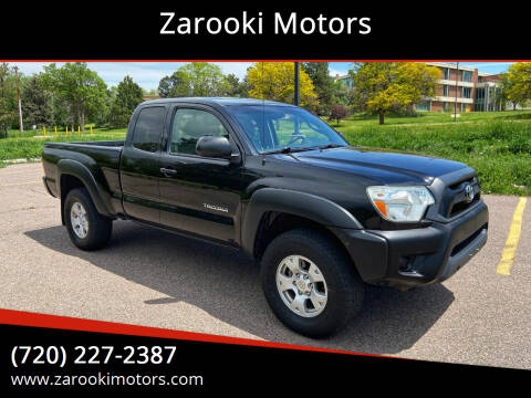 2013 Toyota Tacoma for sale at Zarooki Motors in Englewood CO