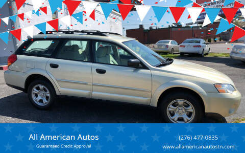 2007 Subaru Outback for sale at All American Autos in Kingsport TN