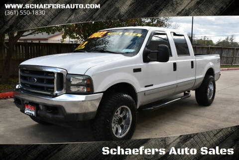 2002 Ford F-250 Super Duty for sale at Schaefers Auto Sales in Victoria TX
