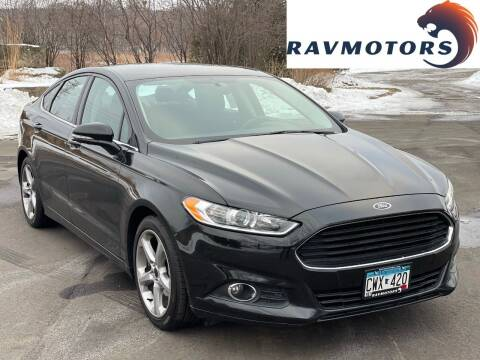 2015 Ford Fusion for sale at RAVMOTORS in Burnsville MN
