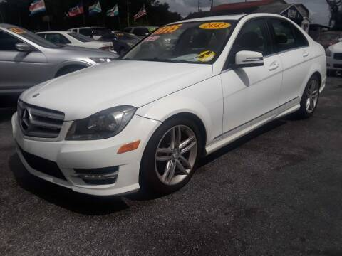 2013 Mercedes-Benz C-Class for sale at AUTO IMAGE PLUS in Tampa FL