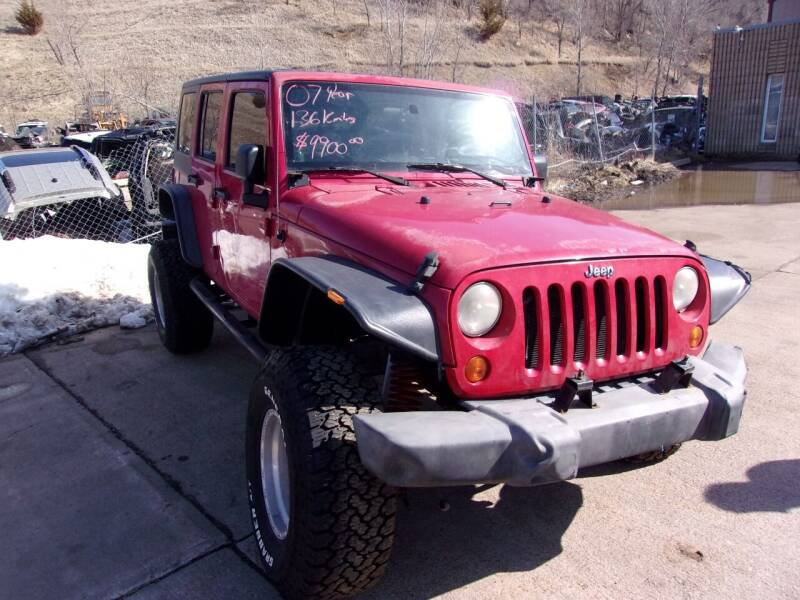 2007 Jeep Wrangler Unlimited for sale at Barney's Used Cars in Sioux Falls SD