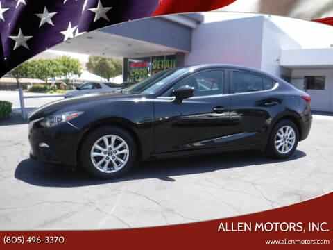 2015 Mazda MAZDA3 for sale at Allen Motors, Inc. in Thousand Oaks CA