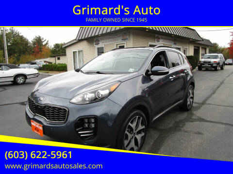 2019 Kia Sportage for sale at Grimard's Auto in Hooksett NH