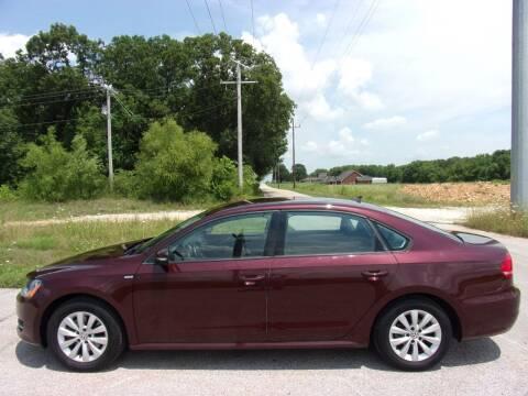 2014 Volkswagen Passat for sale at ABC Auto Sales in Rogersville MO