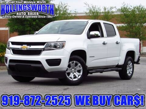 2017 Chevrolet Colorado for sale at Hollingsworth Auto Sales in Raleigh NC
