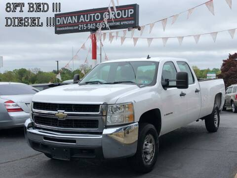 2008 Chevrolet Silverado 2500HD for sale at Divan Auto Group in Feasterville PA