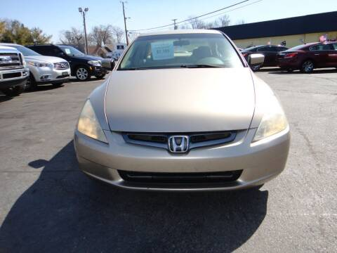 2004 Honda Accord for sale at Honest Abe Auto Sales 4 in Indianapolis IN