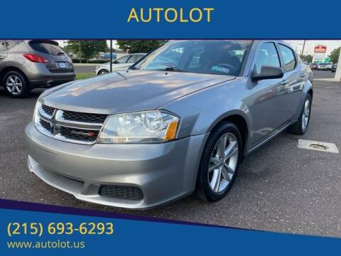 2013 Dodge Avenger for sale at AUTOLOT in Bristol PA
