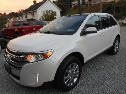 2013 Ford Edge for sale at Sleepy Hollow Motors in New Eagle PA